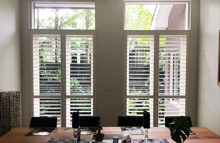 Poplar Laminated Timber Plantation Shutters Prahran Melbourne